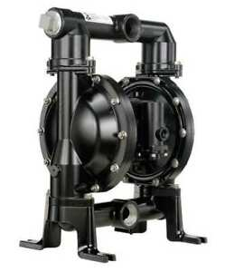 Aro Pd15a aap ftt Double Diaphragm Pump Aluminum Air Operated Ptfe 123 Gpm