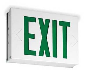Lithonia Lighting Lx W 3 G Acuity Lithonia Steel Led Exit Sign