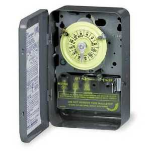 Intermatic T103p Electromechanical Timer 24 Hour dpst