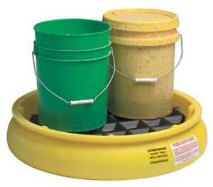 Zoro Select 1615 Pail Spill Containment Pallet