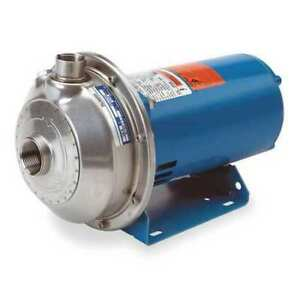 Goulds Water Technology 1ms1f4b4 Stainless Steel 1 1 2 Hp Centrifugal Pump