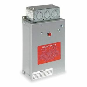 Phase a matic Pam 300hd 1 3 Hp Phase Converter Static