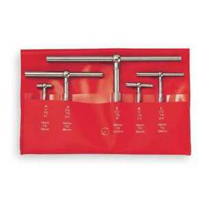 Starrett S229gz Telescoping Gage Set 5 Pc 2 625 In D