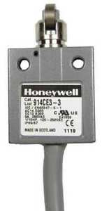 Honeywell Micro Switch 914ce3 6 1nc 1no Spdt Limit Switch Cross Roller Plunger