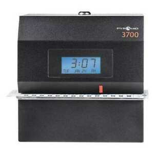 Pyramid 3700 Time Clock And Document Stamp digital
