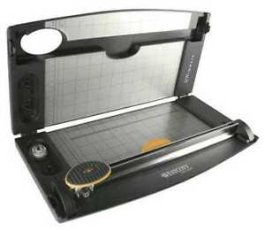 Westcott 14785 Rotary Paper Trimmer 12 In steel Base