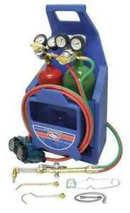 Uniweld Kl22p t Welding And Cutting Kit with Tanks