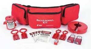 Zing 2725 Lockout tagout Kit filled electrical