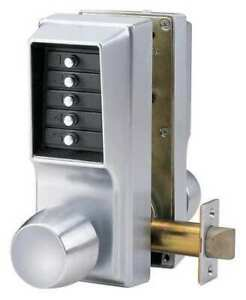 Simplex Ee11 1126d41 Push Button Lock entry And Egress chrome
