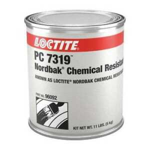 Loctite 209816 Epoxy Adhesive Can 12 Lb Yellow 16 Hr