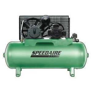 Speedaire 54jk64 Air Compressor 2 Stages 5 Hp 1 Phase