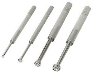 Mitutoyo 154 901 Small Hole Gage Set 4 Pc 0 125 0 5 In