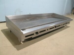 imperial Itg 72 H d Commercial Ss nsf Counter Top Natural Gas 72 Griddle