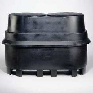 Zoro Select Sp 255 Black Two Drum Spill Container black