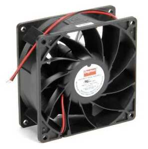 Dayton 2rtj1 Axial Fan Square 12vdc Phase 106 3 Cfm 3 5 8 W