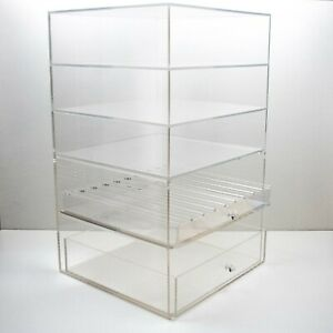 Large Acrylic Counter Top Display Case 13 X 13 X 22