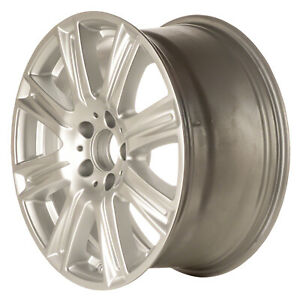 85239 Oem Reconditioned Wheel 17 X 8 5 Bright Hypersilver Full Face Painted