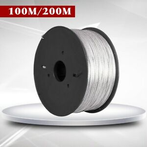 Electric Fence Wire 200 Meter 15kv Aluminum Alloy High Voltage 1 Roll