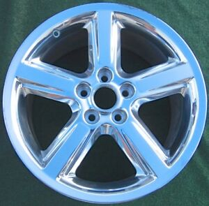 Factory 2008 2009 Ford Mustang 18 Inch Polished Wheel 3707 Genuine Original Oem