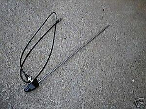 Vw Ford Chevy Mopar Radio Antenna Fits Vintage Car Truck Van Pod Mnt