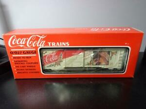 NEW IN BOX~ K-LINE COCA-COLA TRAINS 1992 CHRISTMAS COKE BOX CAR K6471 ~ NOS