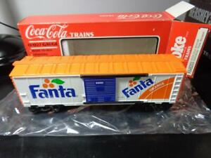 NEW IN BOX~ K-LINE COCA-COLA TRAINS FANTA MANDARIN ORANGE SODA BOX CAR K-648203