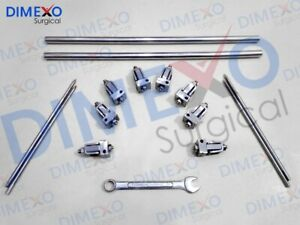Surgical External Fixator Clamp 5 0 Mm Orthopedic Surgical Instruments