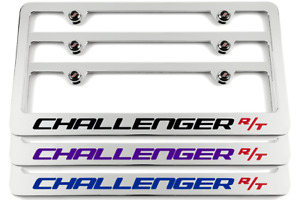 Dodge Challenger R T Chrome License Plate Frame Made In Usa Choose Color