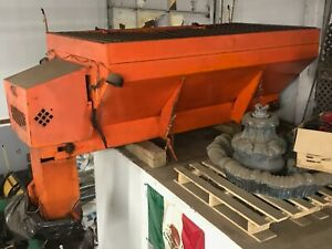 Swenson Pv358 V Box Spreader Salt Spreader Hopper