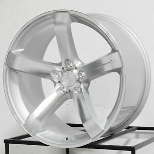 18 Inch Mrr Vp5 Wheels For Pontiac Gto 18x8 5 18x9 5 Concave Rims Set 4