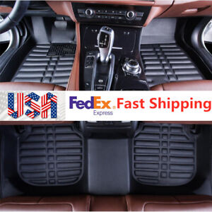 For Fit Toyota Camry 2007 2011 Car Floor Mats Front Rear Carpet Auto Mat