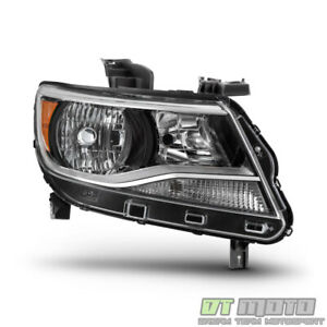 2015 2016 2017 Chevy Colorado Halogen Headlight Headlamp W Bulb Passenger Side