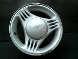Wheel 15x7 Without Exposed Lug Nuts W center Cap Notch Fits 94 95 Mustang 356420