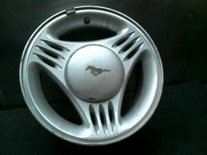 Wheel 15x7 Without Exposed Lug Nuts W center Cap Notch Fits 94 95 Mustang 356421