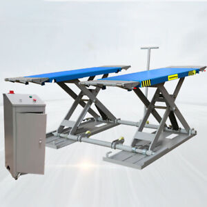 Super Thin Mid Rise Scissor Car Lifts With Width 1910mm
