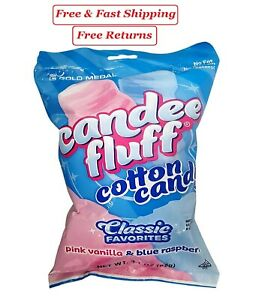 Gold Medal Prepackaged Cotton Candy 24 Pk