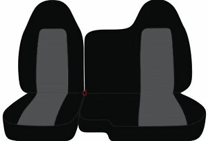 Front Set Car Seat Covers Fits Chevy Colorado 2004 2012 60 40 Bench