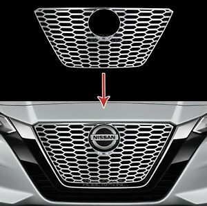 Fits Nissan Altima 2019 2020 Chrome Snap On Grille Overlays Grill Covers Inserts