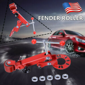 Professional Auto Fender Roller Conical Car Repair Extend Tool Adjustable Length