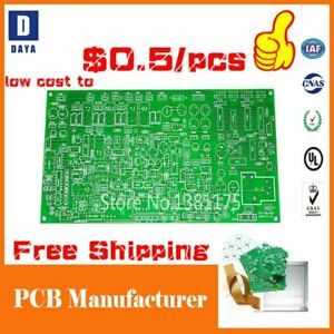 Free Shipping Low Cost Pcb Prototype Manufacturer 1 6 Layers Fr4 Pcb Circuit