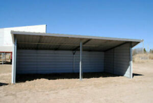 Field Shelter Livestock Shelter Farm Steel Storage Building Horse Stables Barn