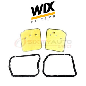 Wix Auto Transmission Filter Kit For 1987 2002 Jeep Wrangler 2 5l 4 0l 4 2l Or