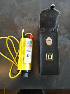 Nice Ideal Model 61 065 Volt test Voltage Tester W Leather Case