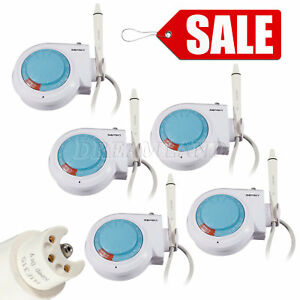 5 Sets Dental Ultrasonic Piezon Scaler E2 Fit Woodpecker Ems With Handpiece Tips