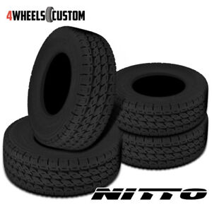 4 X New Nitto Dura Grappler 285 75 16 126r Highway Terrain Tires
