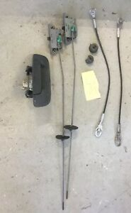 2005 Dodge Ram 1500 Tailgate Latch Handle Assembly