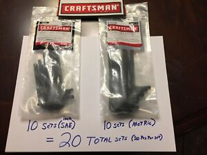 20 Sets Total Craftsman Tools 20pc Allen Hex Key Wrench Sets 10 sae 10metric