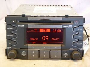 10 11 Kia Soul Oem Radio Mp3 Cd Player Sirius 96140 2k200amae W26314