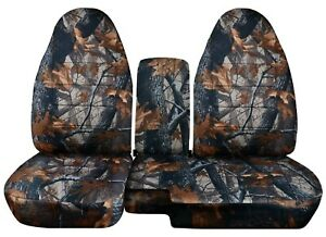 Front Set Car Seat Covers Fits Ford Ranger 1991 2012 60 40 Highback