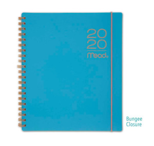 Mead 2020 Planner Weekly Monthly Calendar 8 5 X 11 Large Teal